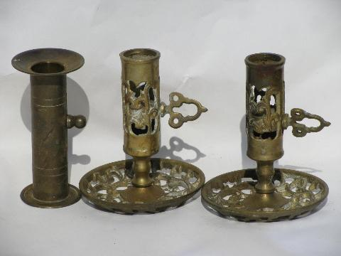 adjustable-candle-sticks-solid-brass-candle-holders-lot-courting-candlesticks-Laurel-Leaf-Farm...jpg